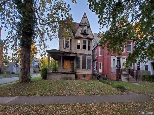 4301 Avery Street, Detroit, MI 48208 (MLS #219108628) :: The Toth Team