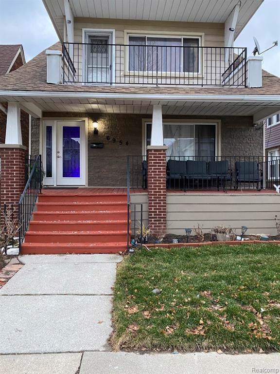 6954 Coleman Street, Dearborn, MI 48126 (#2200003644) :: The Buckley Jolley Real Estate Team