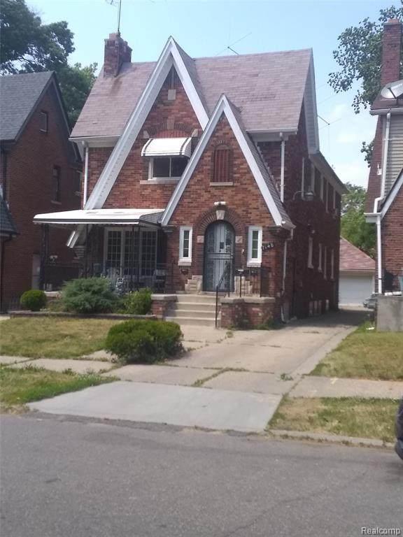 7148 Thatcher Street, Detroit, MI 48221 (MLS #2200008601) :: The John Wentworth Group