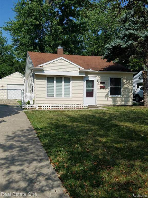 3831 Linwood Avenue, Royal Oak, MI 48073 (MLS #2200048385) :: The Toth Team