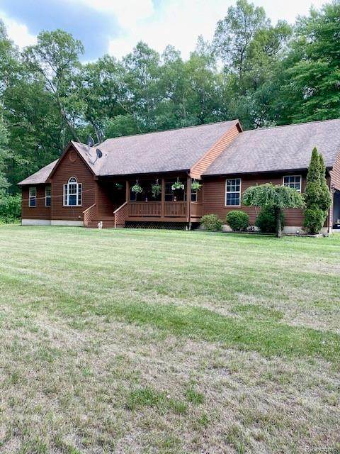3009 Thornville Road, Dryden Twp, MI 48428 (MLS #2200057429) :: The John Wentworth Group