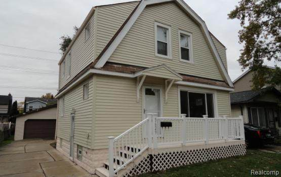 3629 Tyler Avenue, Berkley, MI 48072 (MLS #2200058241) :: The John Wentworth Group