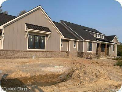 Lot 92 Pine Bluffs Ct, Highland Twp, MI 48357 (#2200080057) :: The Alex Nugent Team | Real Estate One