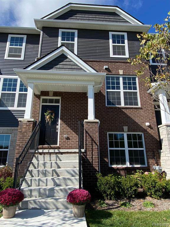262 N Sydney Court, Plymouth, MI 48170 (#2200081607) :: Alan Brown Group