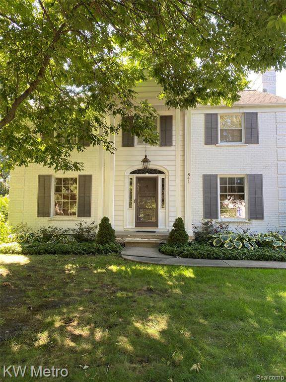841 Westchester Road, Grosse Pointe Park, MI 48230 (#2200086728) :: Keller Williams West Bloomfield