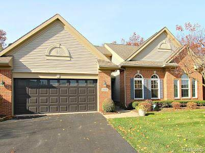 1848 Treyborne Circle, Commerce Twp, MI 48390 (#2200091614) :: NextHome Showcase