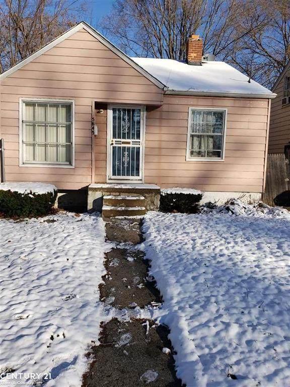 15645 Eastburn St, Detroit, MI 48205 (#58050029861) :: Real Estate For A CAUSE