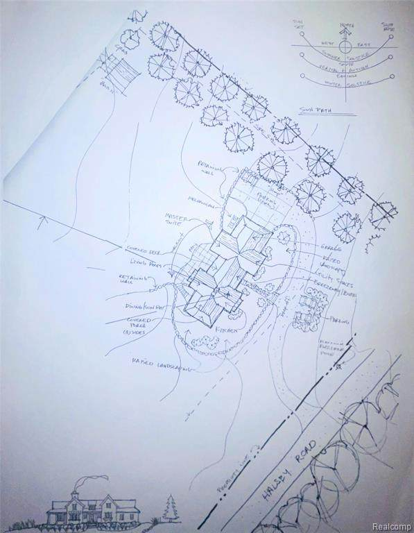000 Halsey Road, Holly Twp, MI 48442 (#2200102593) :: The Mulvihill Group