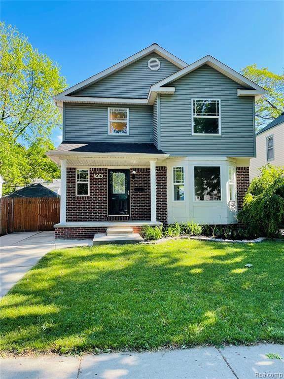 304 E Granet Avenue Avenue N, Hazel Park, MI 48030 (#2210041203) :: Real Estate For A CAUSE