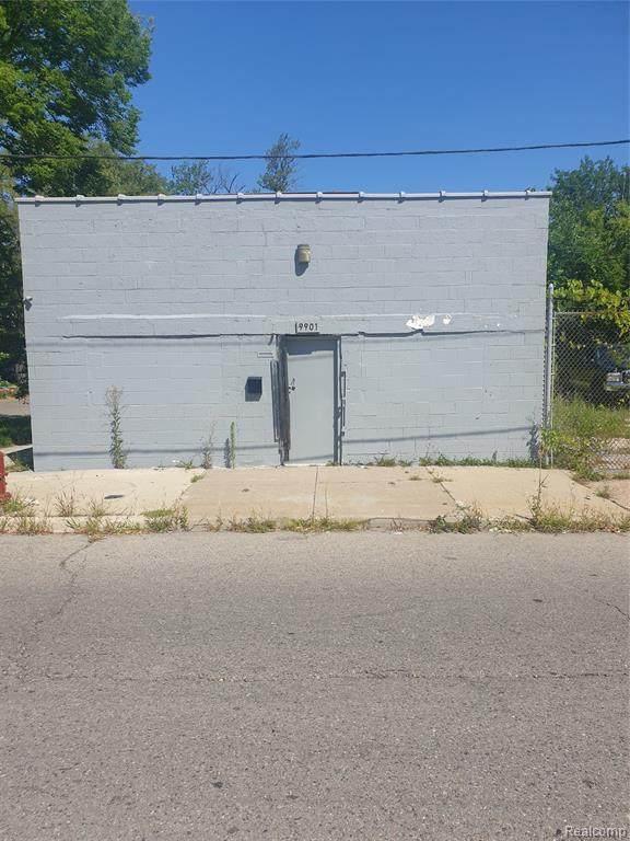 9901 E Forest Avenue S, Detroit, MI 48214 (#2210063325) :: The BK Agency