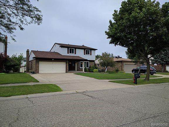 4205 Dickson Drive, Sterling Heights, MI 48310 (#2210066507) :: The Vance Group | Keller Williams Domain