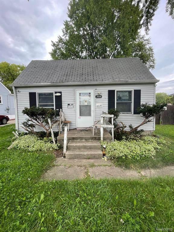 20040 Delaware Avenue, Redford Twp, MI 48240 (#2210089070) :: The BK Agency