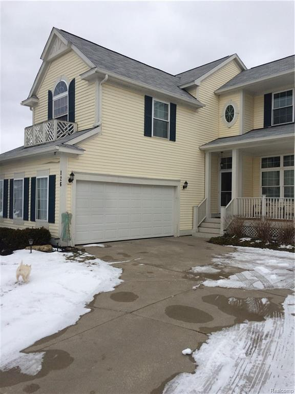 126 Fountain Crescent, Oxford Twp, MI 48371 (MLS #219018596) :: The Toth Team
