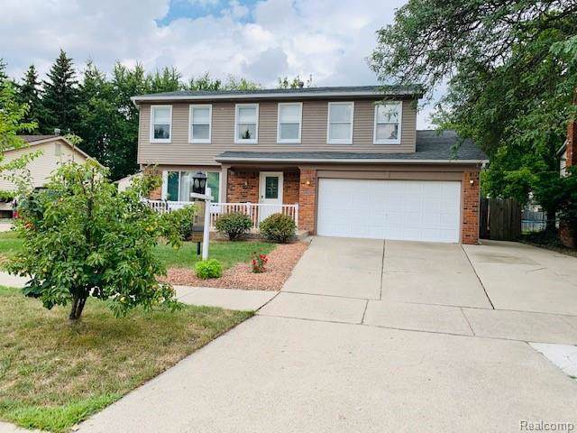 41760 Wayside Drive, Canton Twp, MI 48187 (#219032689) :: RE/MAX Classic