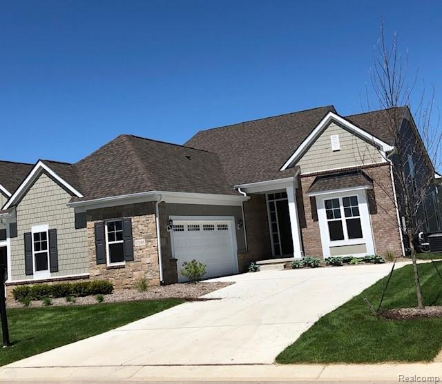 17105 Garden Ridge Lane #0033, Northville Twp, MI 48168 (#219048049) :: The Buckley Jolley Real Estate Team