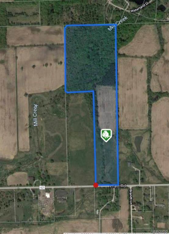 00 Pratt Road, Hadley Twp, MI 48440 (#2210047841) :: Real Estate For A CAUSE