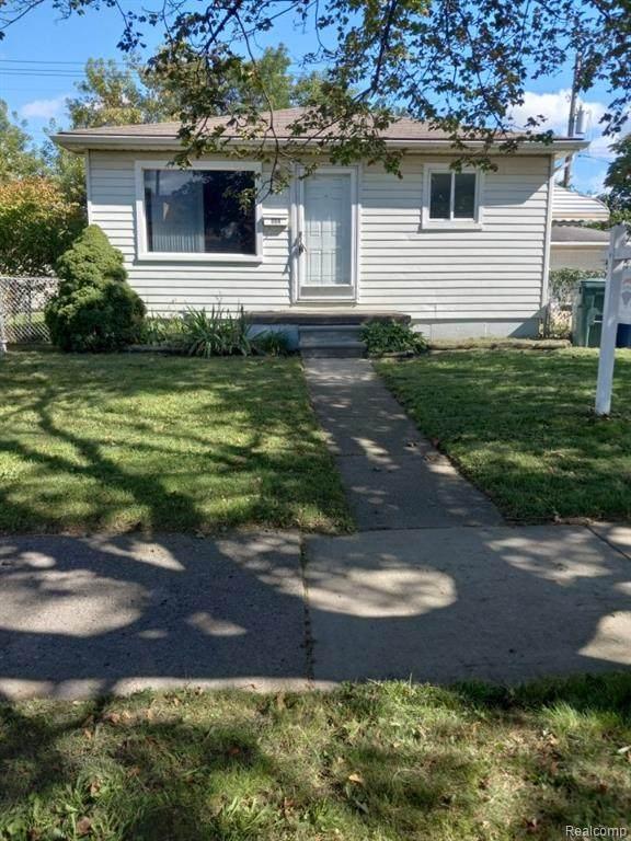 642 White Avenue, Lincoln Park, MI 48146 (#2210076894) :: GK Real Estate Team