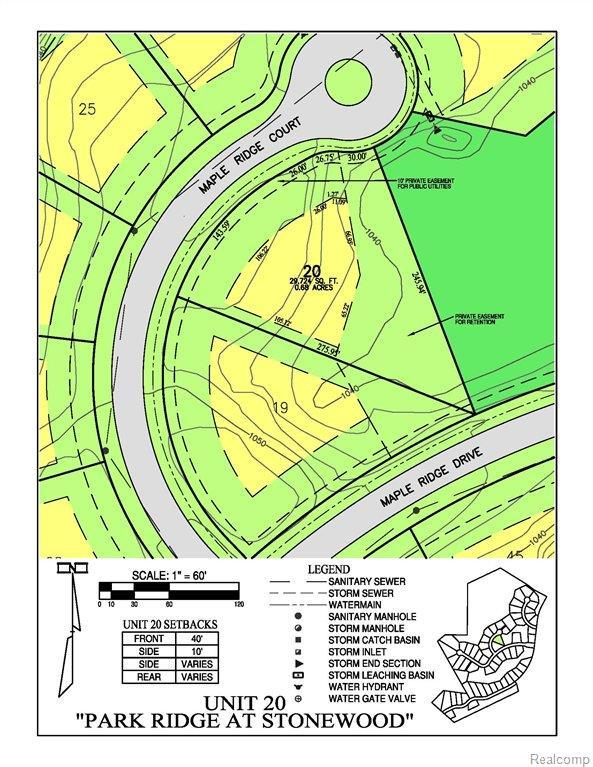 7664 Maple Ridge Court, Independence Twp, MI 48346 (MLS #211125296) :: The Toth Team
