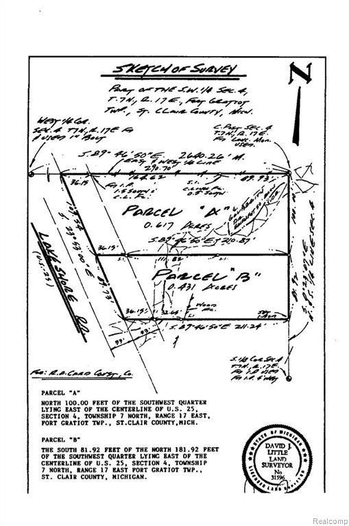 00 Lakeshore Road, Fort Gratiot Twp, MI 48059 (#218046095) :: The Buckley Jolley Real Estate Team
