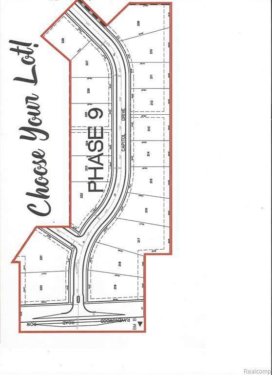 100 Capitol Drive, Marysville, MI 48040 (MLS #2200028476) :: The John Wentworth Group