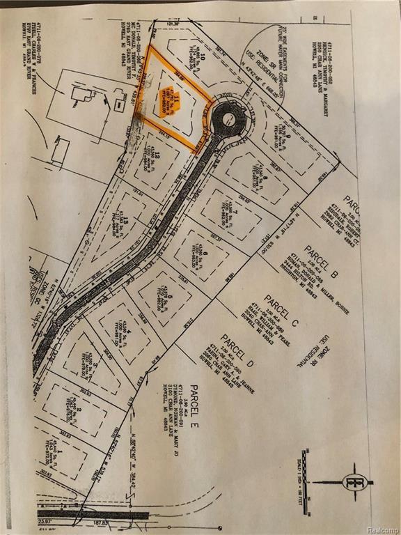 Lot 11 Turning Leaf Drive, Genoa Twp, MI 48843 (#218086721) :: The Buckley Jolley Real Estate Team