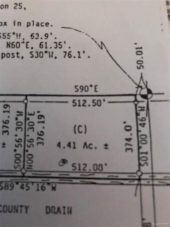 vacant N Van Dyke, Meade Twp, MI 48413 (#219039836) :: The Buckley Jolley Real Estate Team
