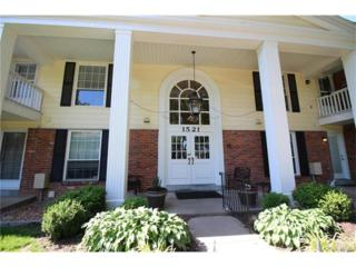1521 Hedgeford Drive #6, Chesterfield, MO 63017 (#17043485) :: Gerard Realty Group