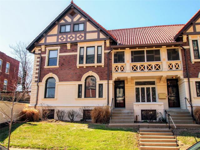 319 Rosedale, St Louis, MO 63112 (#18010281) :: Clarity Street Realty
