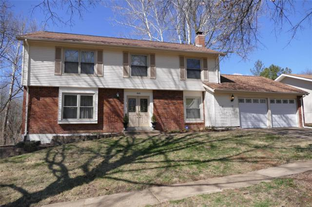 805 La Feil Drive, Manchester, MO 63021 (#18018189) :: The Kathy Helbig Group