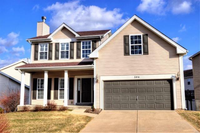 586 Brook Meadow Drive, Ballwin, MO 63021 (#18018284) :: PalmerHouse Properties LLC