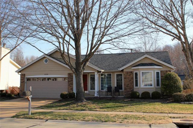 1530 Morning Sun Drive, Ballwin, MO 63021 (#18018843) :: PalmerHouse Properties LLC