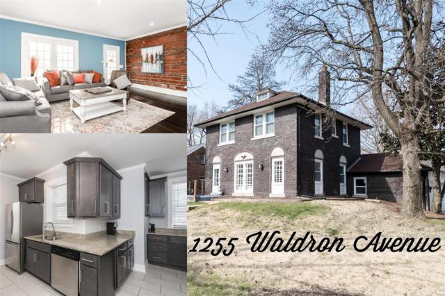 1255 Waldron Avenue, St Louis, MO 63130 (#18025563) :: Clarity Street Realty