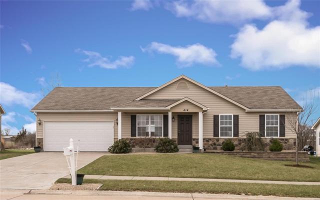 414 Pearl Creek, Wentzville, MO 63385 (#18025630) :: Clarity Street Realty