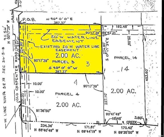 0 Fields Creek Lot 3, Edwardsville, IL 62025 (#18028297) :: Holden Realty Group - RE/MAX Preferred