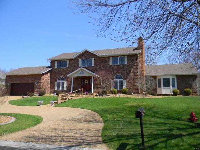 33 Country Club View Drive, Edwardsville, IL 62025 (#18029334) :: PalmerHouse Properties LLC