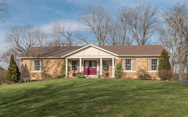 145 Spring Leigh Court, Ballwin, MO 63011 (#18029948) :: Clarity Street Realty
