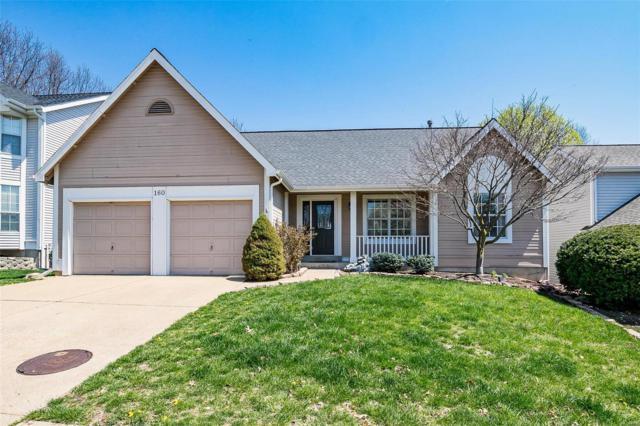 160 Westridge Parc Lane, Ellisville, MO 63021 (#18030120) :: The Becky O'Neill Power Home Selling Team