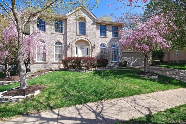 307 Turnberry Place Drive, Wildwood, MO 63011 (#18031671) :: Sue Martin Team