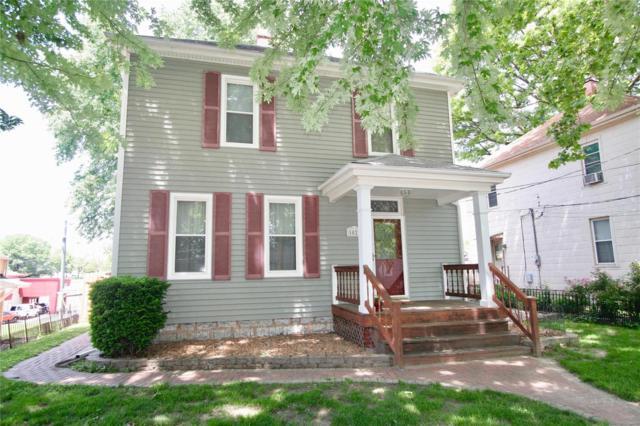 1027 S 4th Street, Saint Charles, MO 63301 (#18031853) :: PalmerHouse Properties LLC