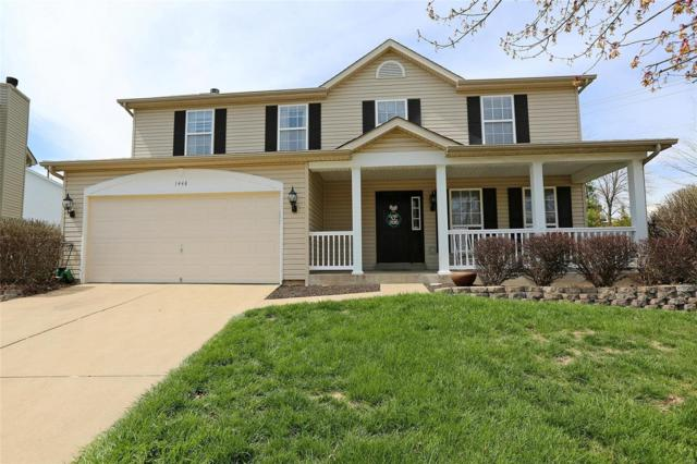 1448 Plantation Manor Circle, Saint Peters, MO 63303 (#18032246) :: St. Louis Realty