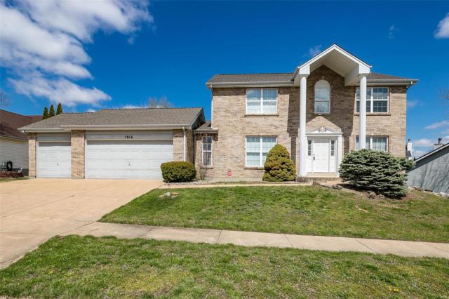 1816 Chateau Du Mont Court, Florissant, MO 63031 (#18032654) :: Clarity Street Realty