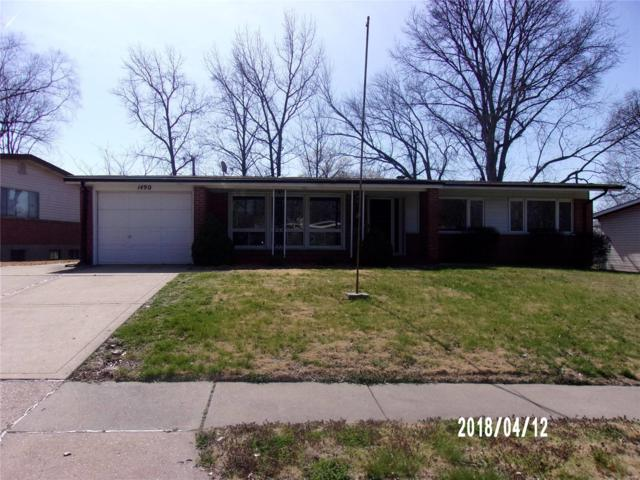 1490 Thoroughbred, Florissant, MO 63033 (#18032968) :: Clarity Street Realty