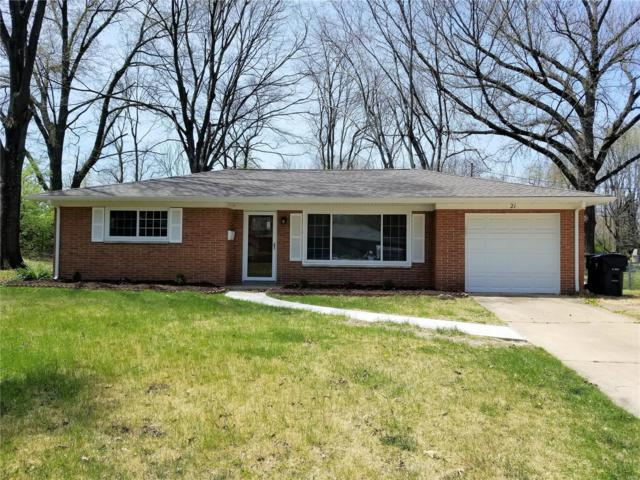 21 Brittany Lane, Belleville, IL 62223 (#18034265) :: Clarity Street Realty