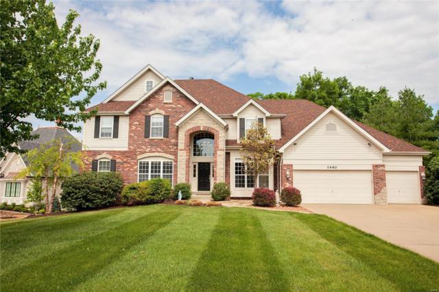 1440 Lake Knoll Drive, Lake St Louis, MO 63367 (#18039178) :: Barrett Realty Group