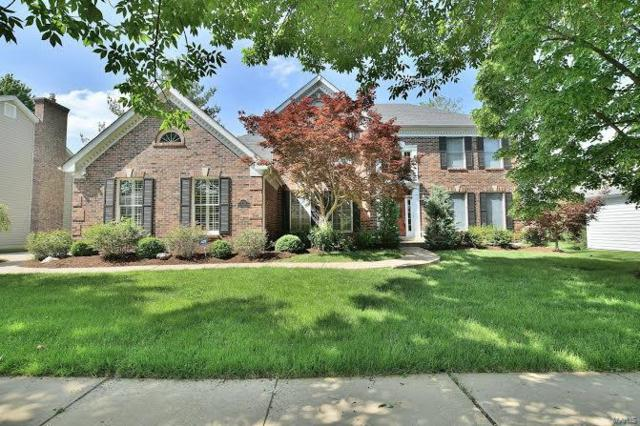 17121 Westridge Meadows Drive, Chesterfield, MO 63005 (#18039193) :: Clarity Street Realty
