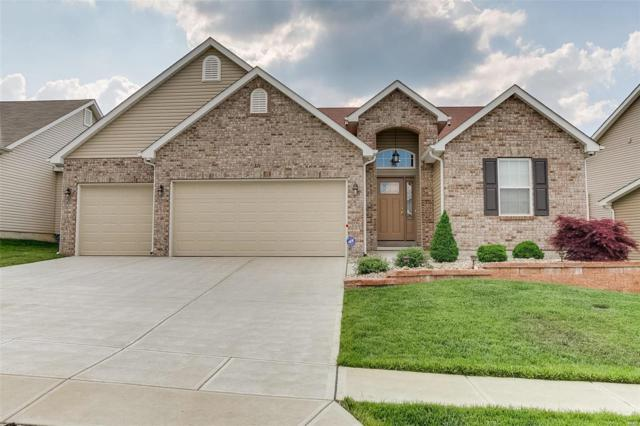 321 Amber Bluff Lane, Imperial, MO 63052 (#18039260) :: Team Cort