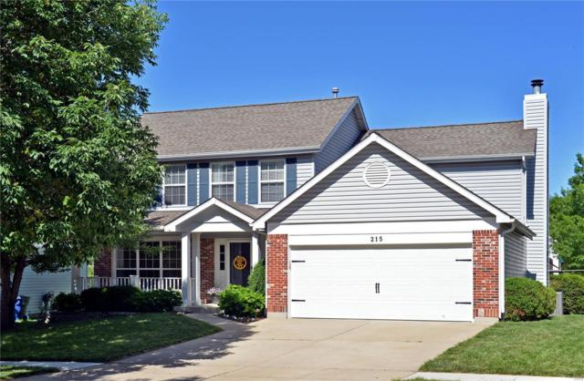 215 Cheval Square, Chesterfield, MO 63005 (#18042620) :: Clarity Street Realty