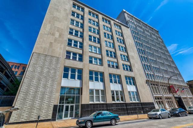 1511 Locust Street #610, St Louis, MO 63103 (#18044104) :: PalmerHouse Properties LLC
