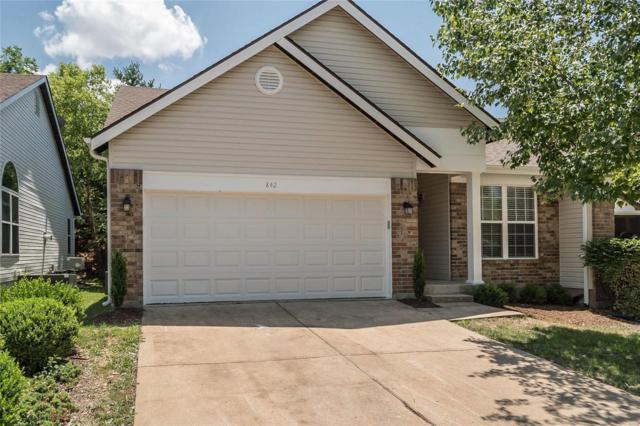 842 Whispering Village Circle, Ballwin, MO 63021 (#18044286) :: PalmerHouse Properties LLC