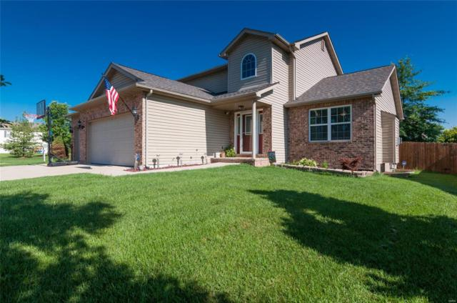 1263 Larkspur Drive, Mascoutah, IL 62258 (#18045726) :: Holden Realty Group - RE/MAX Preferred